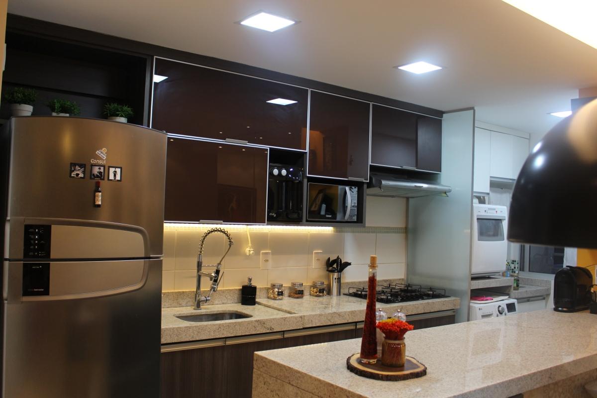 A Cozinha: Iluminação.