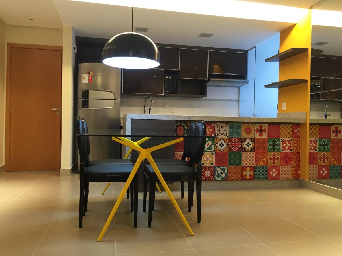 A Cozinha -  Ladrilhos Adesivos.