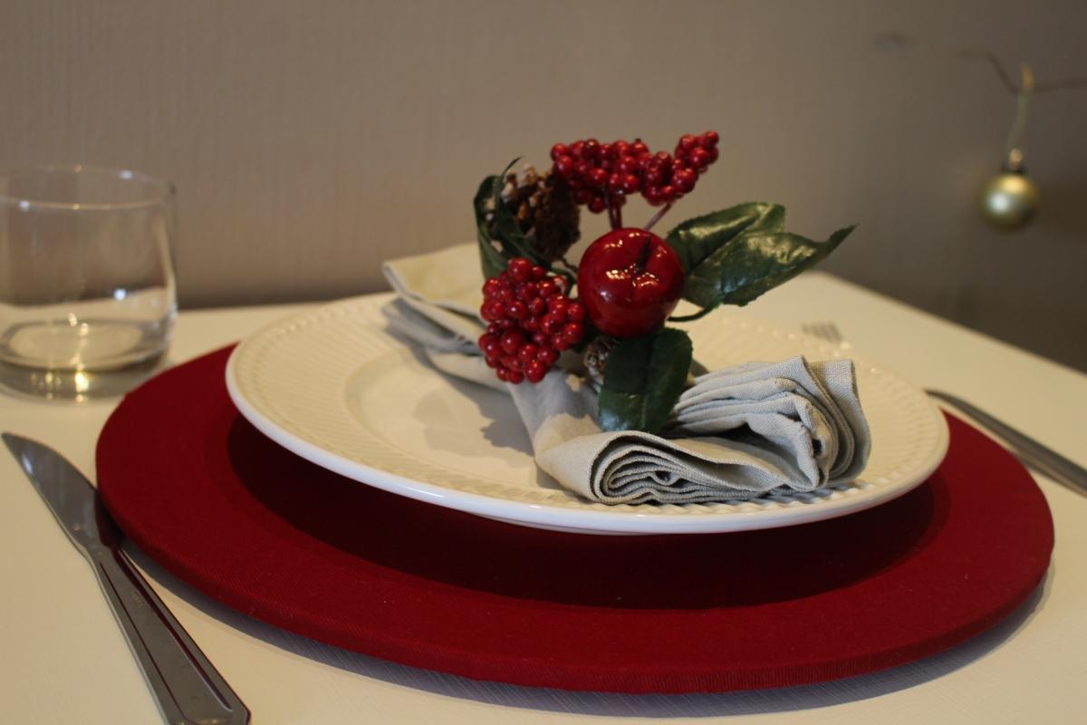 Ideias para arrumar a Mesa para o Natal