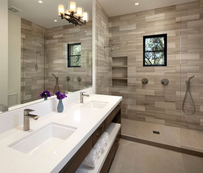 Contemporary-bathroom-light-wood